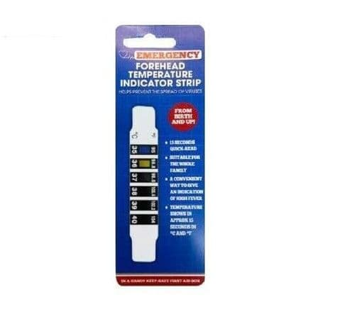 Emergency Forehead Thermometer Temperature Indicator Strip